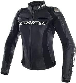 Dainese Women's Racing 3 Lady Leather Jacket Black 40