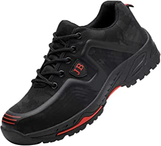 Lightweight Work Protective Safety Shoes Men Women Breathable Lace-up Trainers Steel Toe Caps Sport Sneakers BaojunHT®