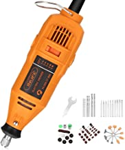 INLIFE Mini Amoladora 130 W 149 Accesorios con 5 Velocidad Ajustable (10000-37000 rpm) Herramienta Rotativa Multifunción para Pulir, Frotar, Afilar, Grabar y Formar