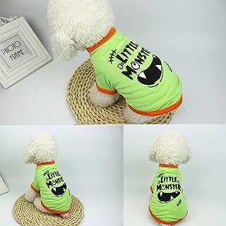 Decdeal Dog Halloween Shirt Pet T Shirt Dog Little Devil Pet Clothes Pet Halloween Clothes Halloween Costume Dog Shirts