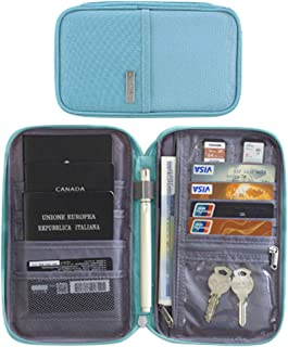 Officiel Dorit fuhg Forest en Cuir Porte-passeport portefeuille Cover case