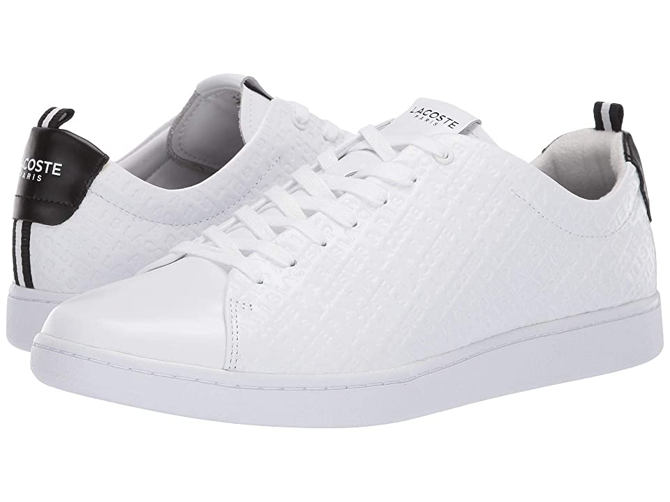 Lacoste Carnaby Evo 119 1 U (White/Black) Men
