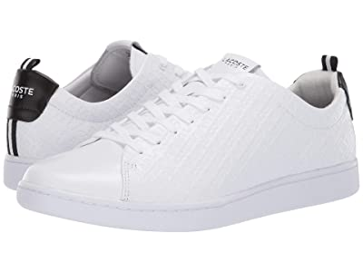Lacoste Carnaby Evo 119 1 U (White/Black) Men