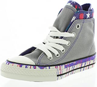 6bd68e9feb4f Converse Girls Chuck Taylor All Star Back Zip Sneaker