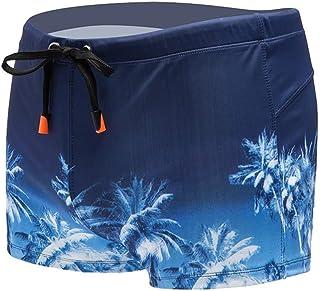 Landscap_Men Swimwear Swim Boxer Trunks Board Shorts Sexy Swimming Fashion Beach Briefs Pants Swimsuits