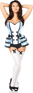 Women's Lavish 4 Pc Flirty Alice Corset Costume