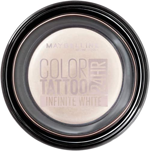 Maybelline Color Tattoo 24HR Cream Gel Eyeshadow, Infinite White