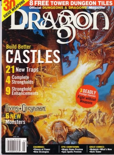 Dragon Magazine #295 Building Castles