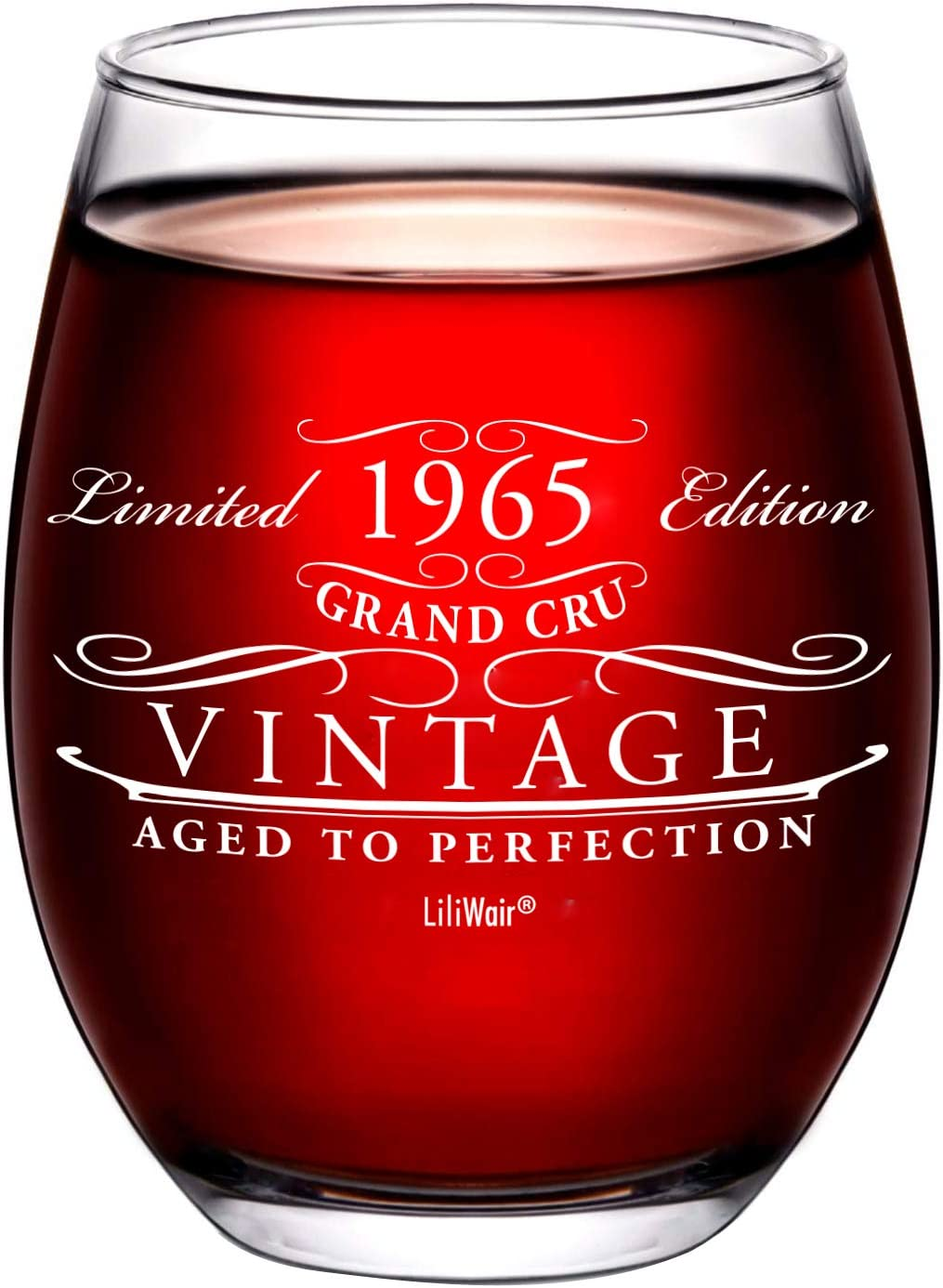 1965 56th Birthday unisex Gifts Wine for Glass 2021new shipping free shipping Gif Men Women