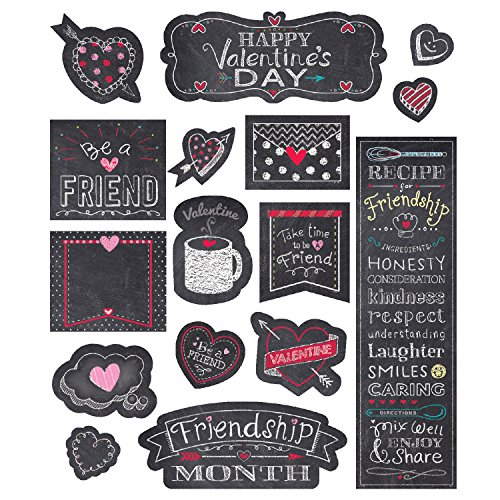 Creative Teaching Chalk Hearts Mini Bulletin Board (Instructional Guide with Display Ideas and Activities)