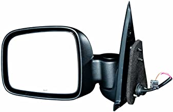 Gold Shrine Side Door Mirror Power Replacement for Jeep Liberty 2002 2003 2004 2005 2006 2007 Driver Left Side LH