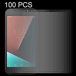 Tempered Glass Film 100 PCS Compatible for Vodafone Smart N8 0.26mm 9H Surface Hardness 2.5D Curved Edge Tempered Glass Sc...