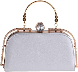 IRVING Clutch Purse for Women Bridal Party Evening Bags Formal Clutches (Color : E)