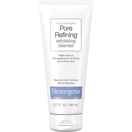 Neutrogena Pore Refining Exfoliating Facial Cleanser, 6.7 fl. oz, Pack of 3