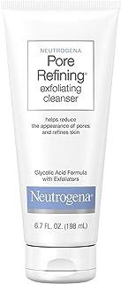 Neutrogena Pore Refining Exfoliating Facial Cleanser, 6.7 fl. oz, Pack of 3