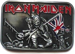 Iron Maiden belt buckle