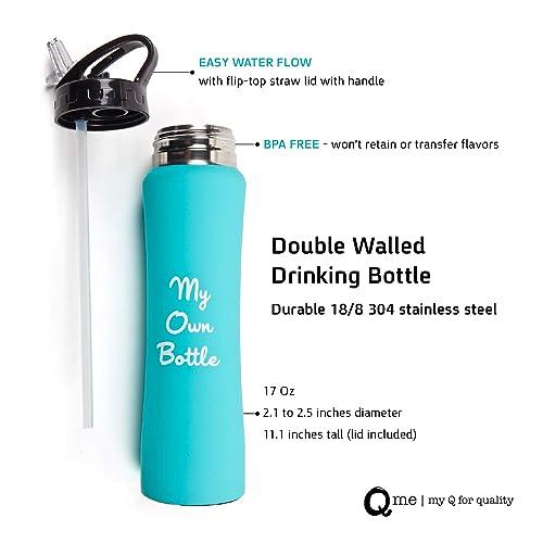 4bb2c603 Stainless Steel Sweat Proof Drinking Bottle: Amazon.com