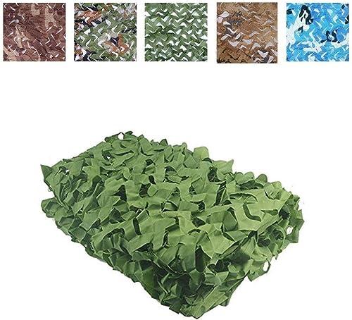 ATR Camouflage Camo Filet, Filet de Camouflage extérieur pour Le Camping Chasse Militaire Chasse Pêche, Vert Pur