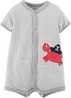 Red Crab Romper Newborn