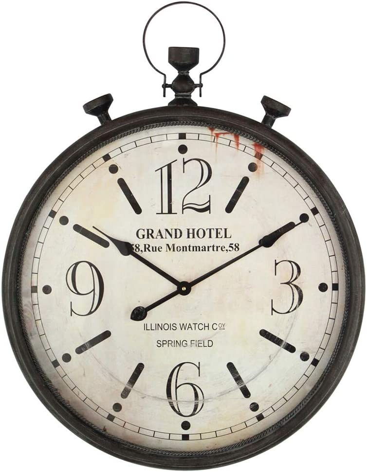 Large Challenge the San Antonio Mall lowest price of Japan Pocket Watch Metal Wall Clock Home Frame with for Antique