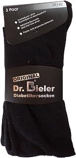 6 pares de calcetines calcetines sin goma diabéticos 98% algodón sin goma negro azul gris