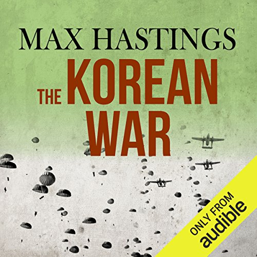 The Korean War audiobook cover art
