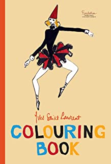 Yves Saint Laurent Colouring Book