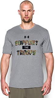 Under Armour Mens Ua Support The Troops Tech T