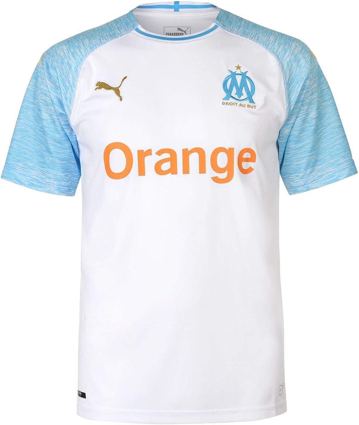 PUMA Olympique De Marseille Home Replica SS T-Shirt Uomo