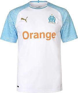 PUMA Olympique de Marseille Home Shirt Replica SS Jersey, Hombre
