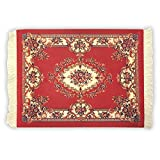 Rug Mouse Pad - Persian Rug Mouse Pad – - Oriental Rug Computer Mousepad – Persian Desk Rug Coaster Mouse Pad - Red