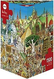 Heye Global City 1500 Piece Hugo Prades Jigsaw Puzzle