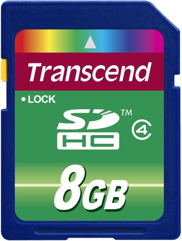 Transcend Sdhc 4gb Class 4 Speicherkarte Computer Zubehör