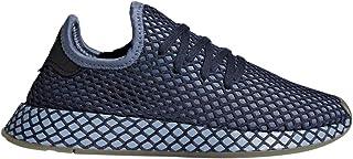 adidas Boys DEERUPT Runner J Steel/Steel/Lilac - B41880