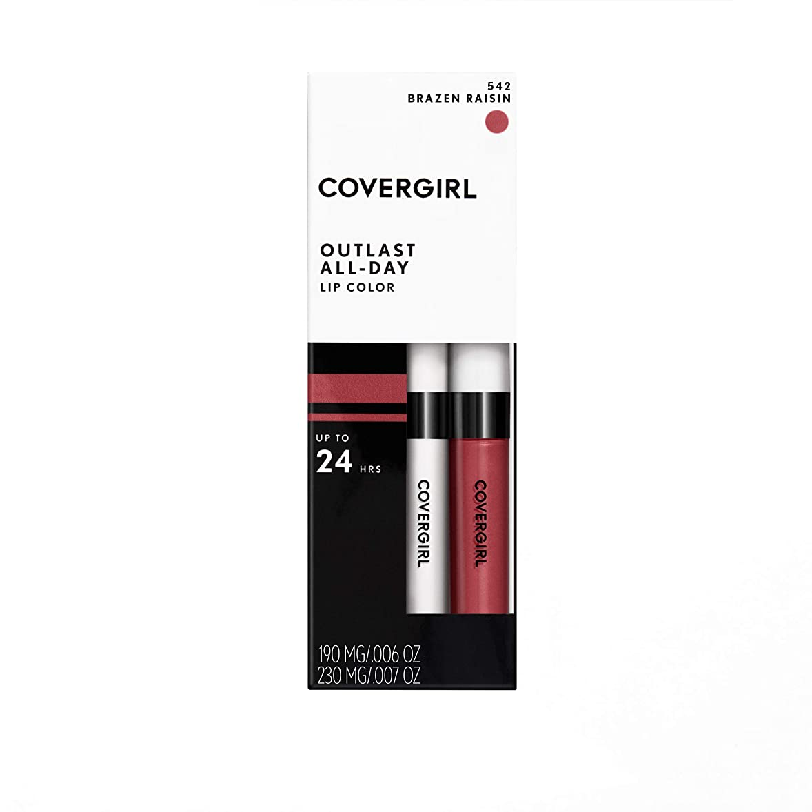 補充農村ヒントCOVERGIRL Moisturizing Lip Color Ever Red-Dy 521 [並行輸入品]