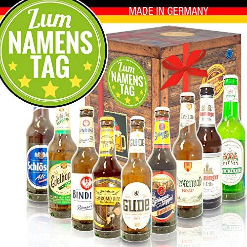 Zum Namenstag - Deutsches Bierset - Namenstag Geschenk Freundin