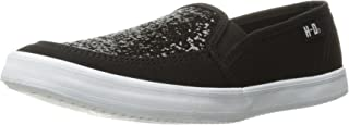 HARLEY-DAVIDSON Women's Mading Fashion Sneaker, Black