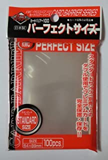 Perfect Barrier Card Sleeves (100 Piece), Clear, 64 x 89mm
