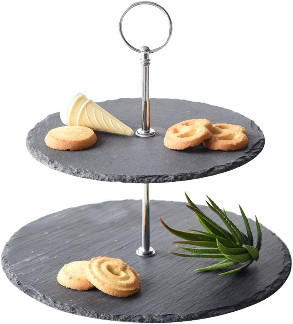 Cake Stand Party Tray Bargain Salad Bowl Modern 2 Layer Nordic Selling Dess