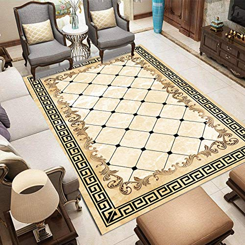 Soft Nursery Carpet Modern Abstract Area Carpet Home Printing Home Bedroom-M2-J63_80cm160cm