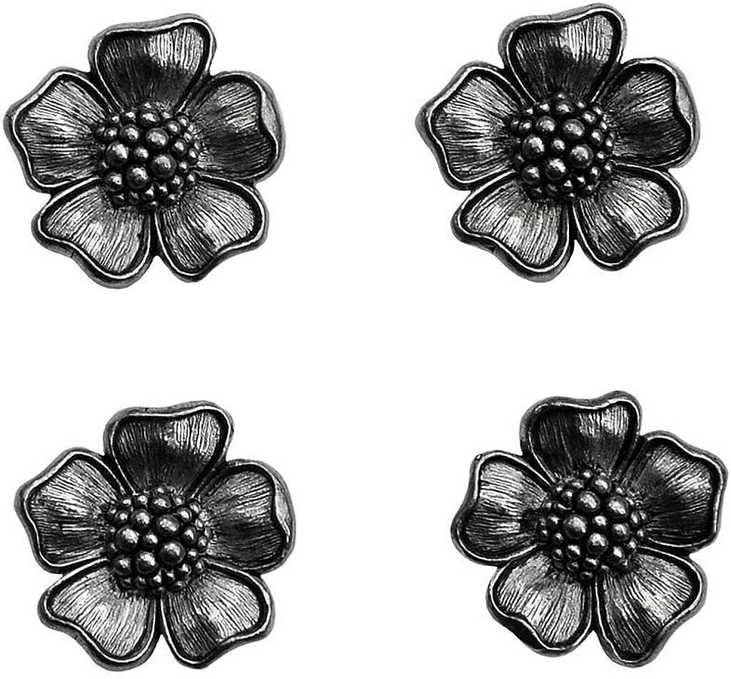 Quality Handcrafts Guaranteed Flower Tuxedo Studs