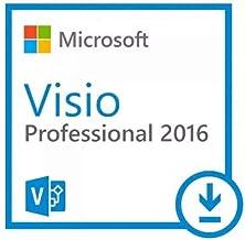 Visio 2016 Professional Plus - Licence perpétuel - Pas d'abonnement - Licence numérique originale Envoyé dans un jour par courrier électronique depuis Amazon - AUCUN CD / DVD