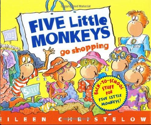 Five Little Monkeys Go Shopping (A Five Little Monkeys Story)の詳細を見る