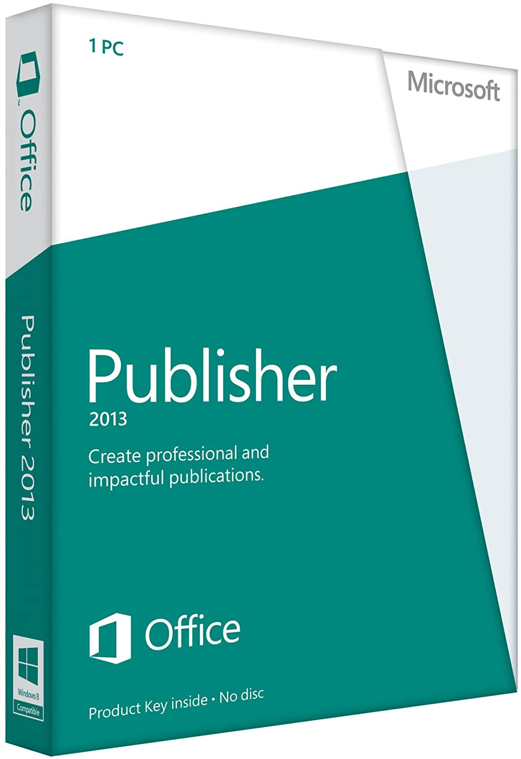 Now free shipping Microsoft Publisher 2013 Key No Card Sale item Disc