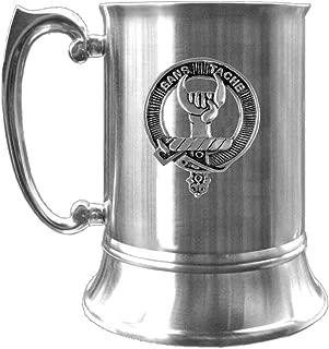 Napier Scottish Clan Crest Pewter Badge Tankard