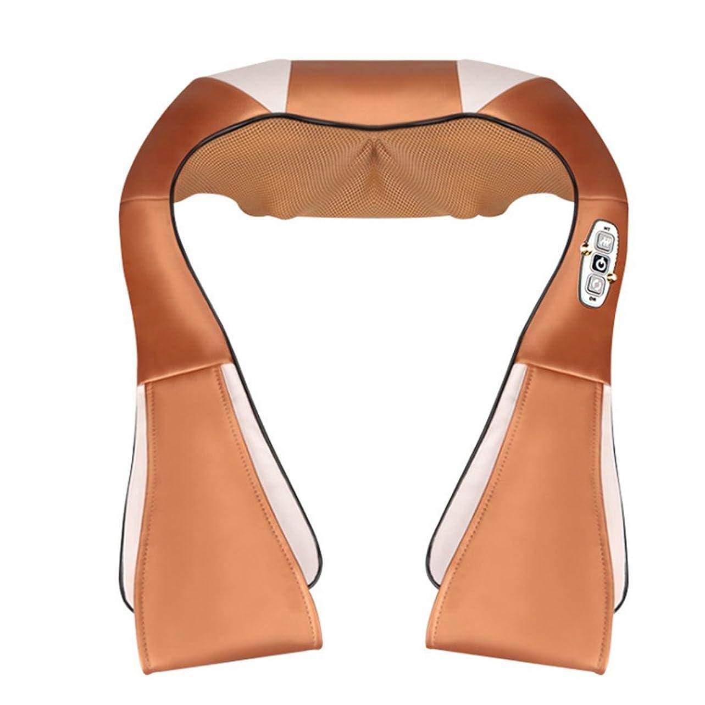 水っぽい子孫共役電気マッサージ岬16のマッサージヘッド赤外線治療ネックバックウエストの痛みを軽減するヘルスケア家庭用マッサージ装置