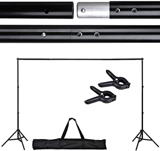 Adjustable Background Backdrop Support Stand Crossbar System Photo Studio 10 Ft