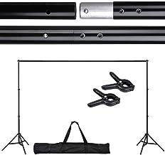 Adjustable Background Backdrop Support Stand Crossbar System Photo Studio 10 Ft