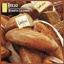 Bread Calendar 2022: 18 Month Calendar Bread, Square Calendar 2022, Cute Gift Idea For Bread Lovers Women & Men, Size 8.5 ...