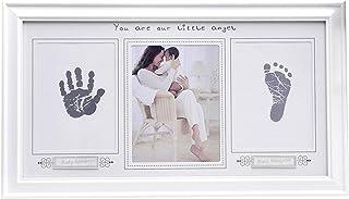 CHSEEA Baby Handabdruck und fu/ßabdruck Mit Bilderrahmen Baby-Abdr/ücke Set Geburt /& Taufe #4 Baby Erinnerungen Baby-Schatzk/ästchen Andenken Set ideale Babygeschenk zur Babyparty